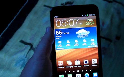 Обновление для Samsung Galaxy Note