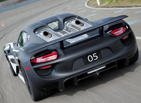 Porsche 918 Spyder – гибрид мощностью 770 л.с.