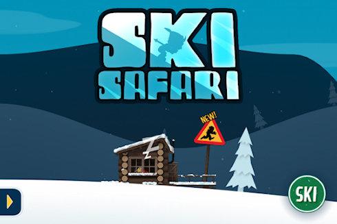 Бесконечный раннер Ski Safari