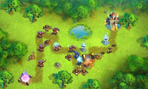 Towers N' Trolls — все на защиту замка!