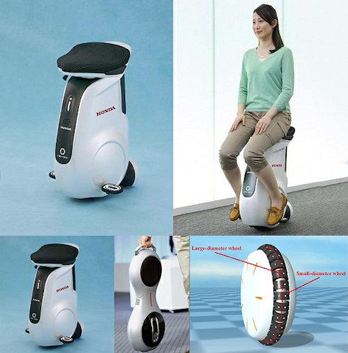UNI-CUB — мобильное колесо для пожилых