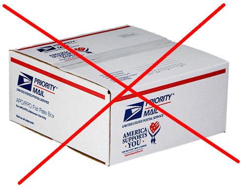 Вводятся ограничения на посылки из США