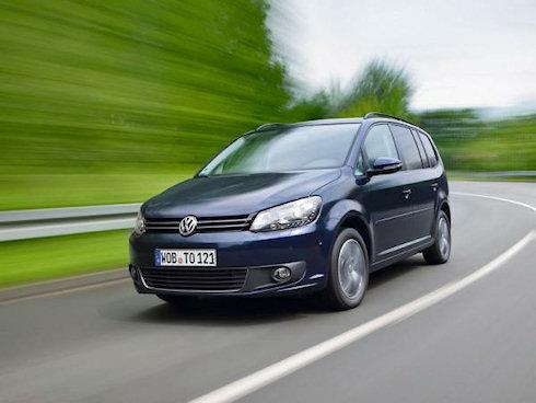 Обновленный Volkswagen Touran выйдет на рынок через 2 года