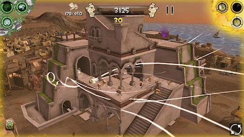 Babel Rising 3D: разрушаем Вавилонскую башню