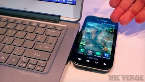 Заряжаем смартфон от ноутбука