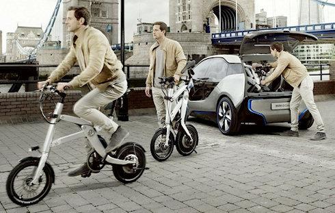 BMW iPedelec – миниатюрный электробайк