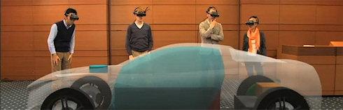 Виртуальный шлем для дизайнеров