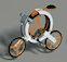 Donut – ультрамодный складной велосипед
