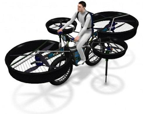 Flying Bike: полетаем на велосипеде