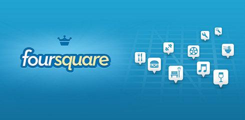 Обновление Foursquare на Google Play