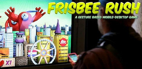 Frisbee Rush – земные тарелочки против пришельцев
