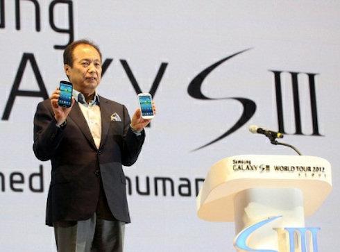 Продано 10 млн Samsung Galaxy S III