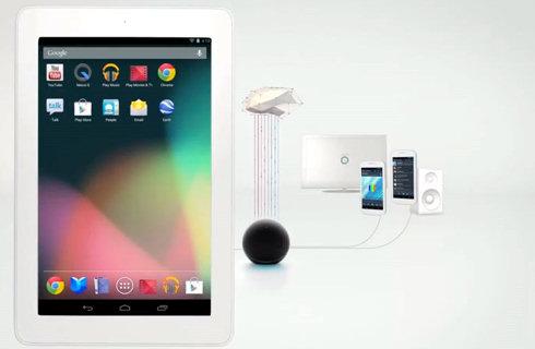 Google представила планшет Nexus 7