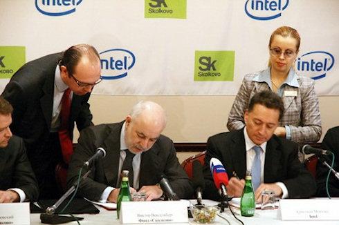 Intel — резидент Сколково