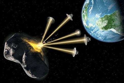 Лазер защитит землян от астероидов