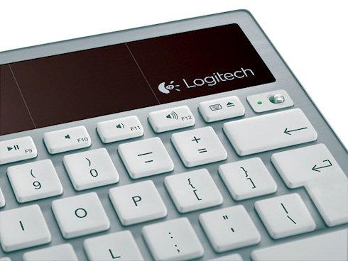 Клавиатура на солнечных батареях Logitech K760