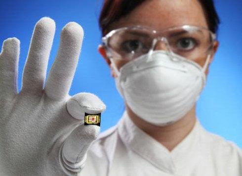 Микрочип на органической энергии