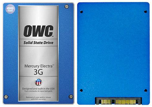 Твердотельный накопитель OWC Mercury Electra MAX 3G емкостью 960 Гб!