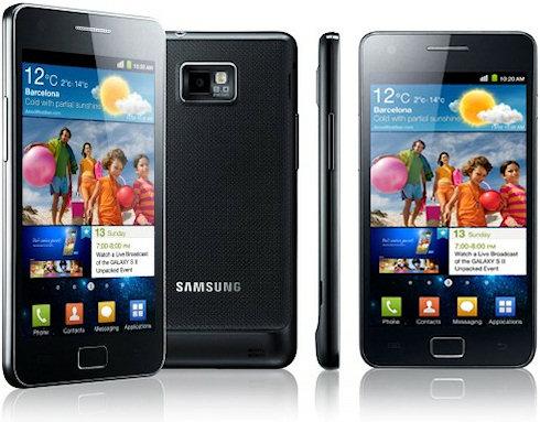 Продажи смартфонов Samsung Galaxy S и S II бьют рекорды