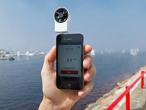 Shaka – анемометр iPhone