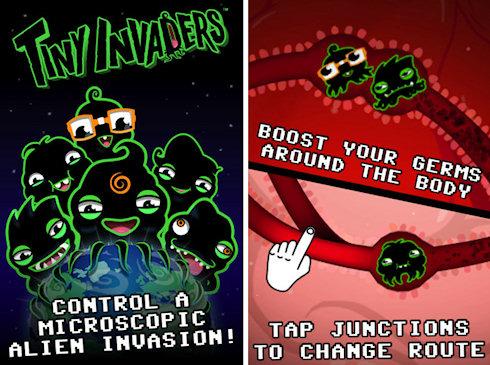 Tiny Invaders – микробы идут!