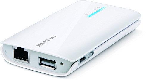 TP-Link TL-MR3040 работает от аккумулятора