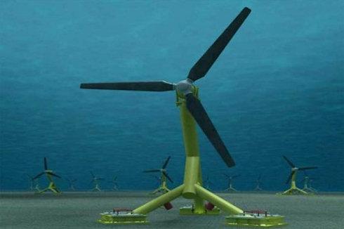 Первая приливная турбина запущена в Шотландии