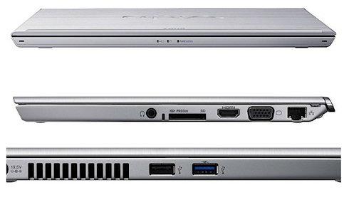 Новый ультрабук Sony Vaio T13