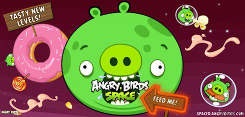 Дополнение Utopia для Angry Birds Space