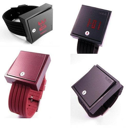 Часы Wall Switch Watch — хотите выключить время?