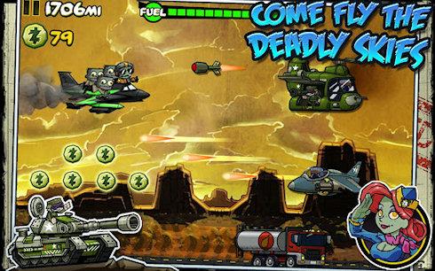 Zombie Ace – зомби покоряют небеса