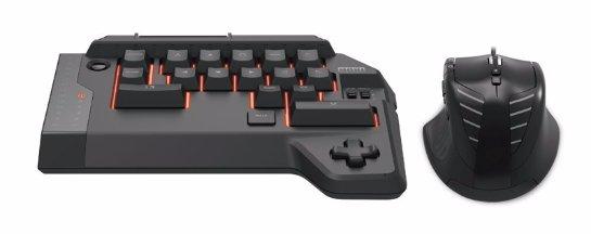 Компания Hori разработала клавиатуру и мышку для PlayStation 4