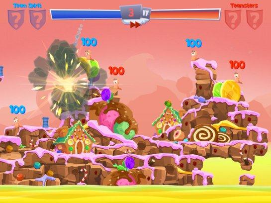 Worms 4 в скором времени появится для Android и iOS