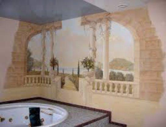 Художественная роспись в дизайне помещений