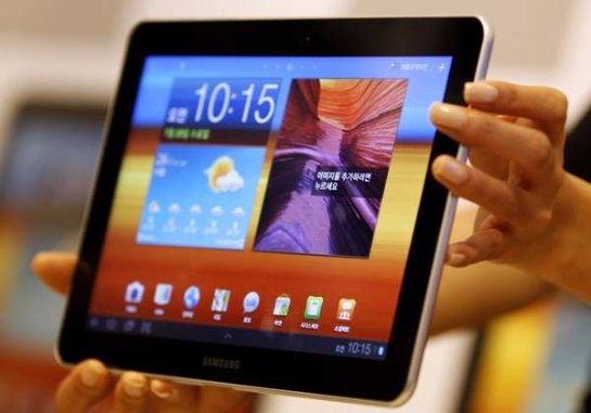 Samsung в скором времени выпустит гигантский Android-планшет