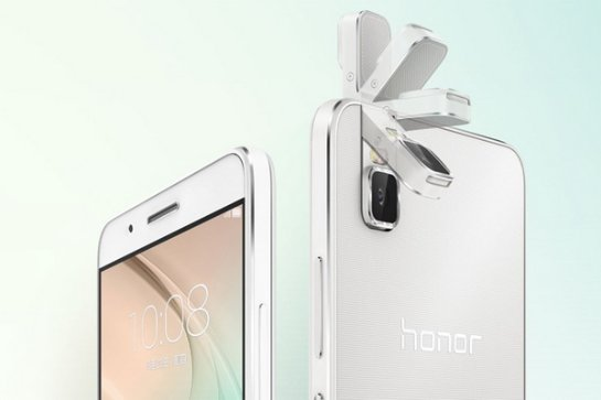 Смартфон Huawei Honor 7i обладает откидной камерой