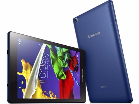 В продажу вышел планшет Lenovo TAB 2 A8