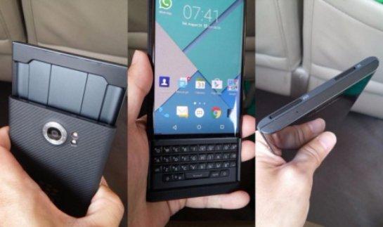 В интернете появились снимки смартфона BlackBerry Venice