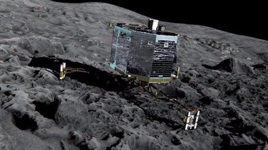 Ученые нашли признаки жизни на комете Чурюмова-Герасименко