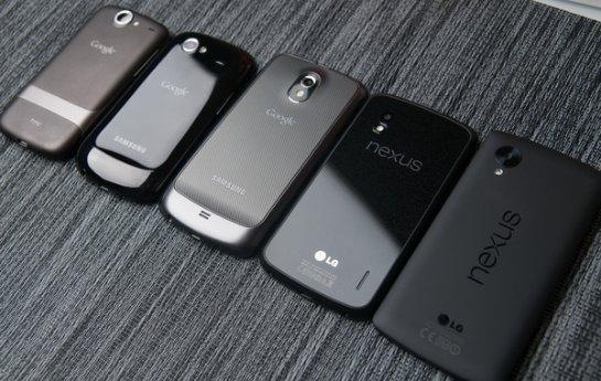 Компания LG представит новый Nexus 5