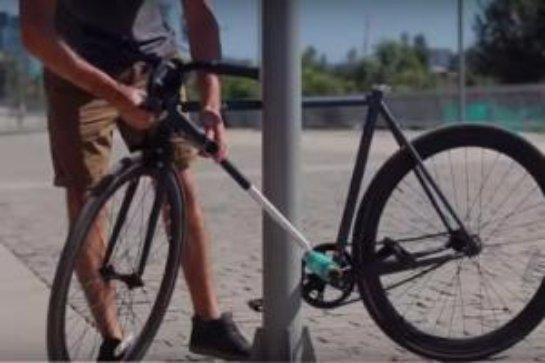 Молодые предприниматели из Чили создали велосипед, который невозможно украсть