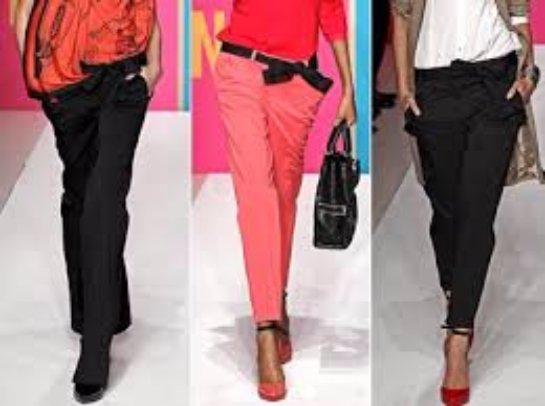Брюки для женского гардероба с учетом моды 2015