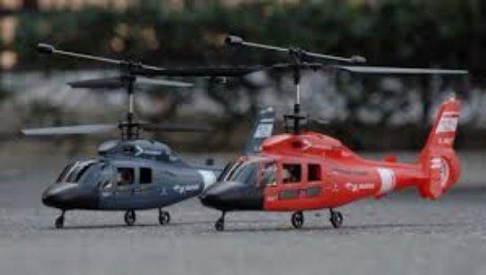 Преимущества игрушечного вертолета