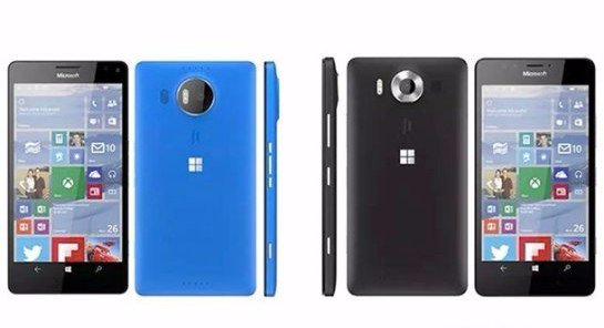 В сети появились снимки Microsoft Lumia 950 и 950 XL