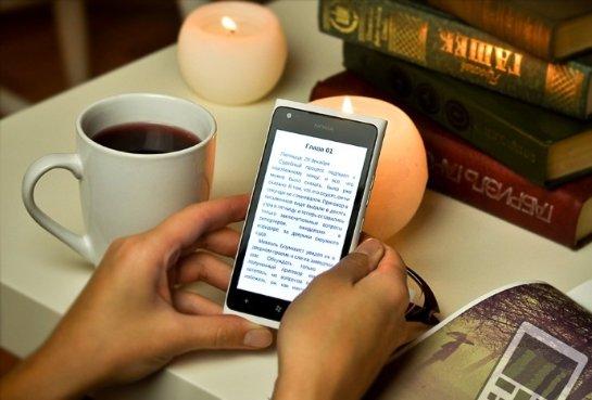 Смартфоны вытесняют электронные книги