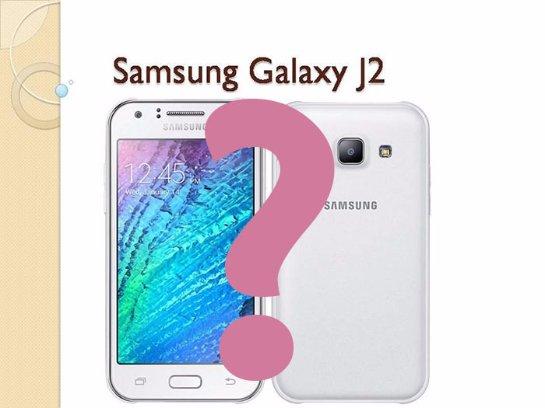 Вскоре выйдет бюджетный смартфон Samsung Galaxy J2