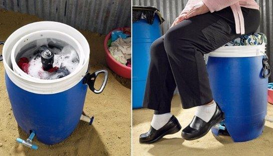 Специалисты изобрели стиральную машину, которая способна работать без электричества