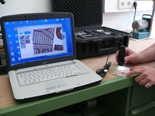 USB микроскоп при проведении исследований
