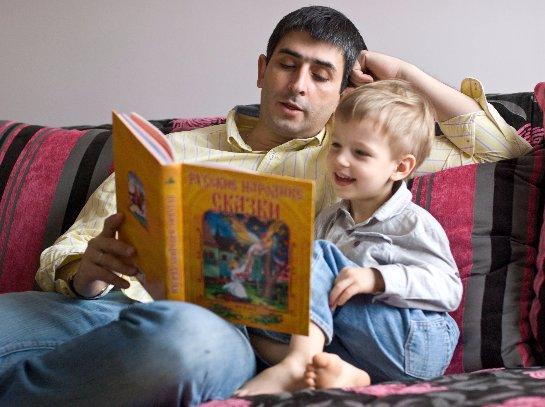 Сказка от папы- залог крепкого сна для ребёнка