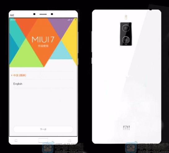 В сети появились снимки флагмана  Xiaomi